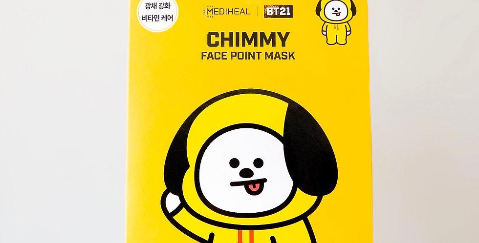 [MEDIHEAL] BT21 Face Point Mask -Chimmy