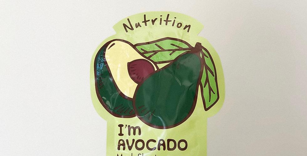 [Tonymoly] I'm Real #Avocado_Nutrition