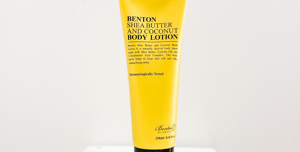 [Benton] Shea Butter And Coconut Body Lotion