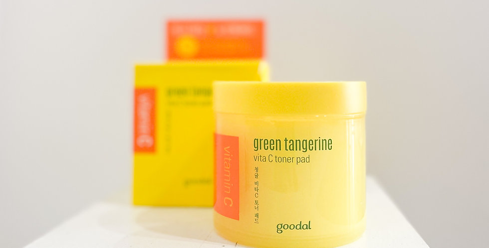 [Goodal] Green Tangerine Vita C TonerPad