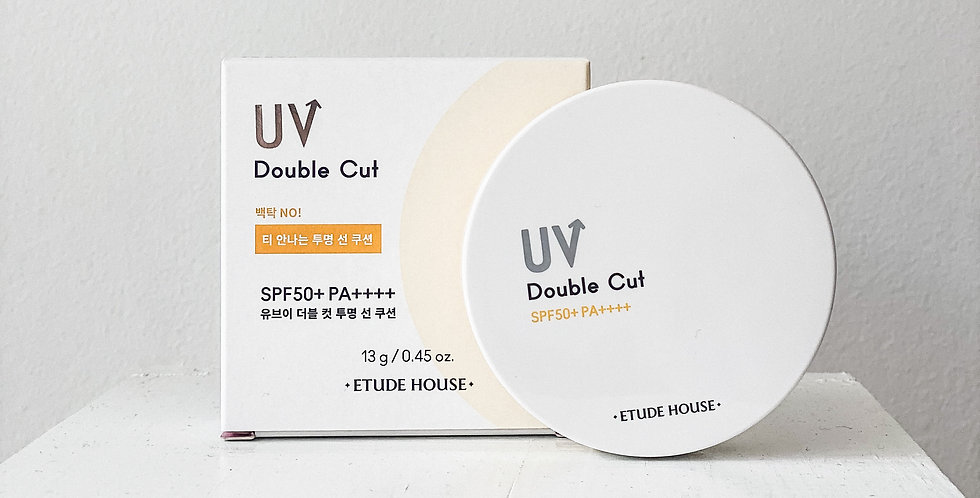 [ETUDE HOUSE] UV Double Cut Clear Sun Cushion SPF50+ PA++++