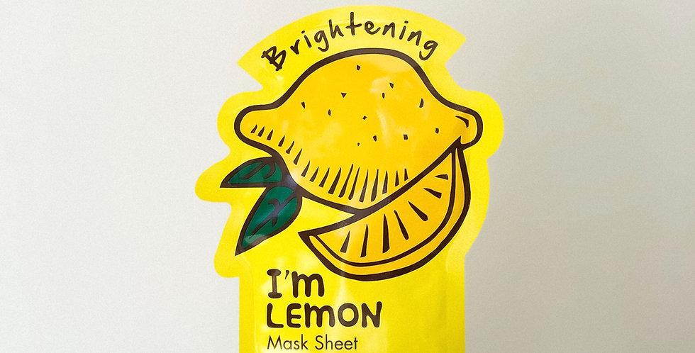 [Tonymoly] I'm Real #Lemon_Brightening