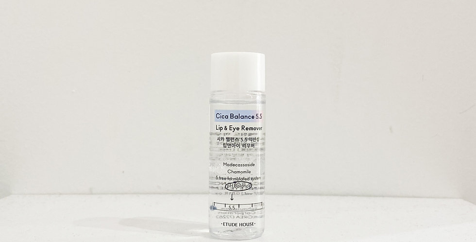 [Etude House] Cica Balance 5.5 Lip And Eye Remover Travel Size