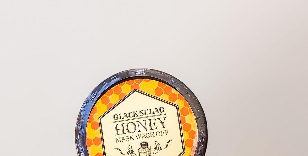 [Skinfood] Black Sugar Honey Mask Wash Off