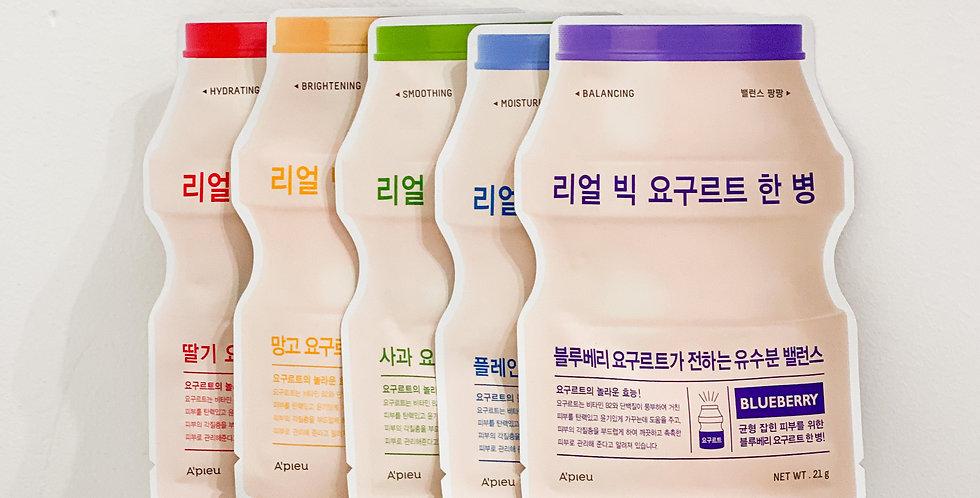 [A'Pieu] Real Big Yogurt Bottle Mask