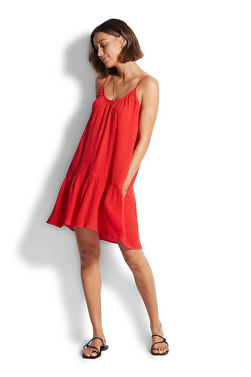 SEAFOLLY DOUBLE CLOTH DAY DRESS