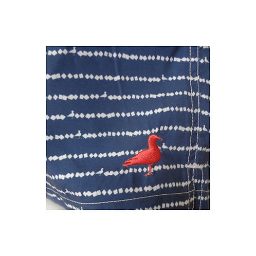 BLUUE BIRD ON WIRE BOARD SHORTS