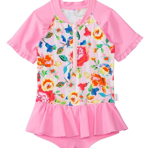SEAFOLLY ROSESAREPINK PLAYSUIT