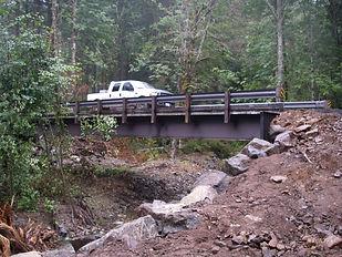 City of Tacoma Bridge Construction