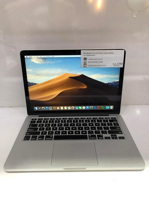 Macbook Pro 13 Retina early 2015
