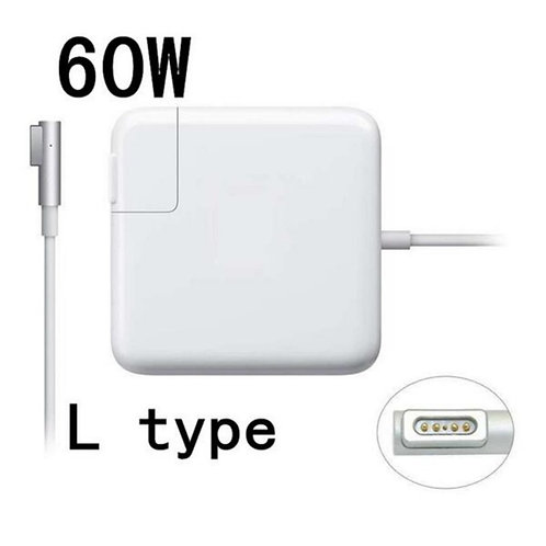 "60W  L MagSafe Power Adapter Charger For Macbook Pro 13"" A1181 A1184 A1278 A"