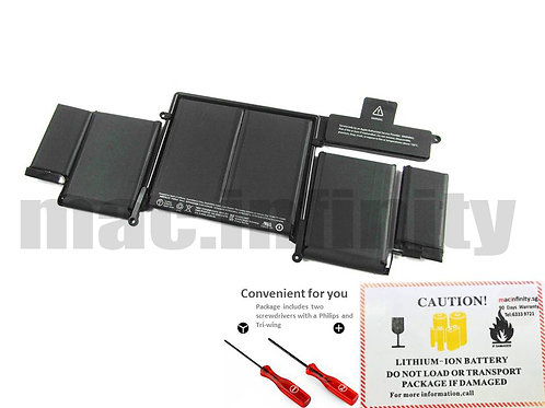 """Macbook Battery A1493 for Macbook Pro 13"""" Retina A1502 Late 2013 Mid 2014"""