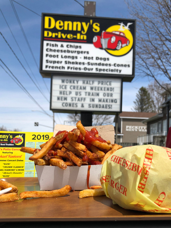 Denny's Drive-In was fast-food heaven.