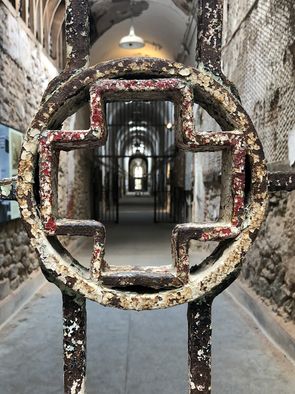 Al Capone had his tonsils removed here. Eastern State Penitentiary, Philadelphia, PA.