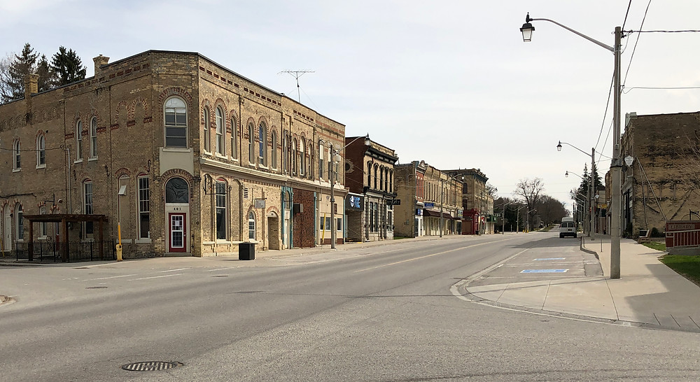 Wingham, with no signs of life.