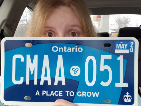 A Place to Grow: Day 1 of New Ontario Licence Plates