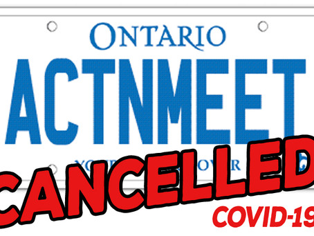 Acton meet cancelled: COVID-19