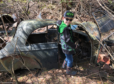 Monaghan Forest car dump