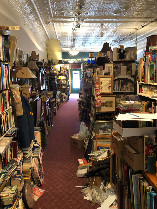 A densely-stocked store in St. Marys looked promising, but the proprietor wouldn't haggle.