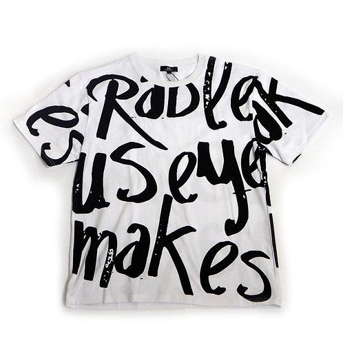 手書き風総柄Tシャツ