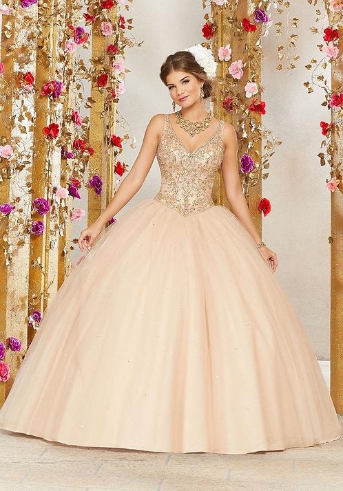 spanische Brautkleider ballkleider tüll blush nude sissi