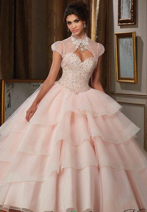Brautkleider blush Hochzeitskleider Prinzessin rosa