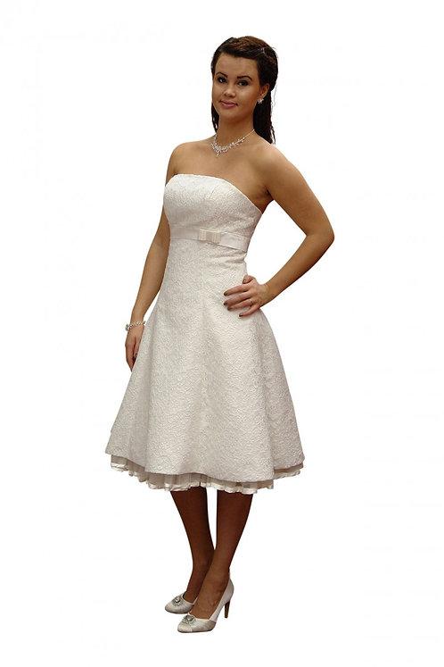 Brautkleid kurz, Standesamt Kleid, von Consuello