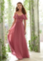 Abendkleider-Brautjungfenkleider au Chiffon flieder rosa blush nude champagne
