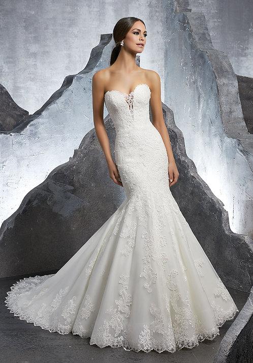 Brautkleider fit and flair meerjungfrau aus spitze