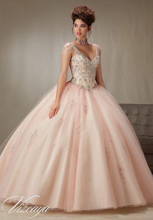 Ballkleider Brautkleider Sissi Cinderella Tüll Glitzer blush rosa