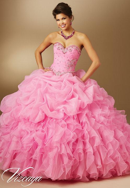 Ballkleider Brautkleider Sissi Cinderella Tüll Glitzer pink rosa