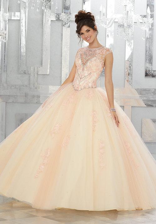 Brautkleider Ballkleider mit Trägern Tüll Prinzessin Kleid weiss