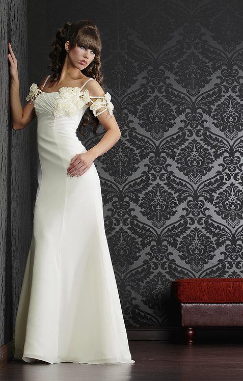 Brautkleid von Consuello, Chiffon