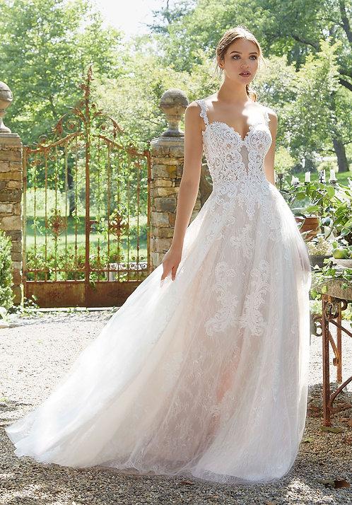 Brautkleid Paloma mit Spitze, BLU Collection