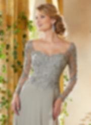 Abendkleider für Mutter der Braut, festliche Garderobe, Kleid lange Ärmel, mit Spitze