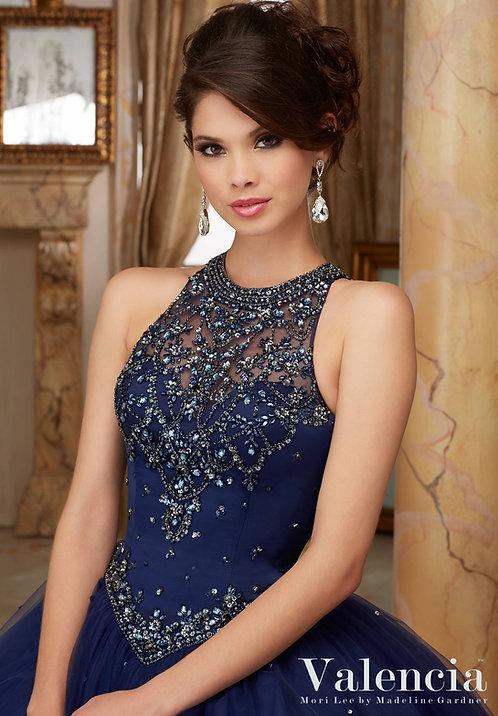 türkische Brautkleider ballkleider tüll glitzer blaue