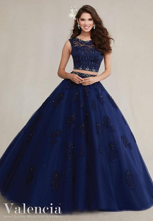 Spanische Brautkleider Ballkleider tüll blaue abendkleider