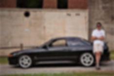 Clark Ethridge 1991 Nissan Skyline GTS-t.jpg