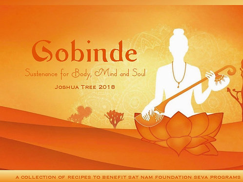 Gobinde - Joshua Tree Recipe Collection 2018