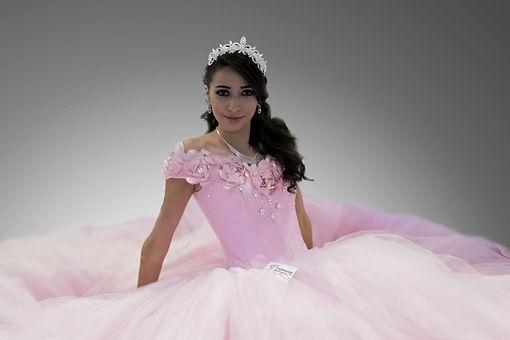 Vestido 15 años rosa, Quinceañera, 15 años