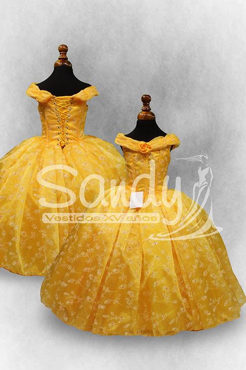 Vestido de niña Bella Sandy