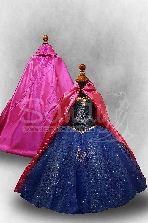 Vestido de niña Ana Frozen