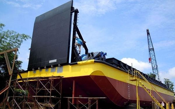 38m mining barge