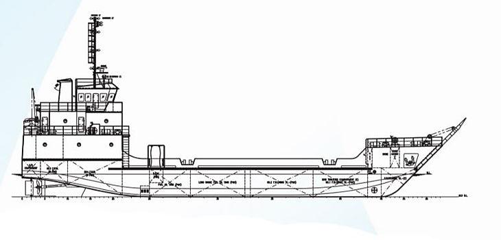 Shallow draft landing craft