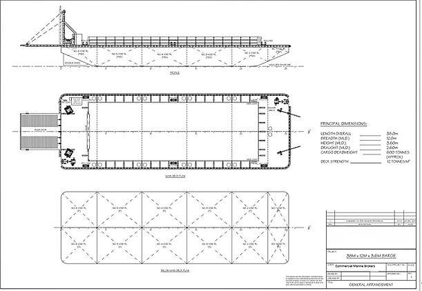Barge 38 m