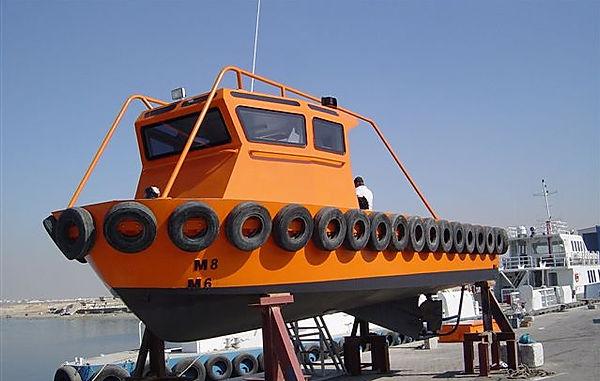 9m work boat
