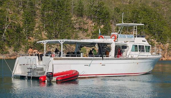 diving vessel for sale