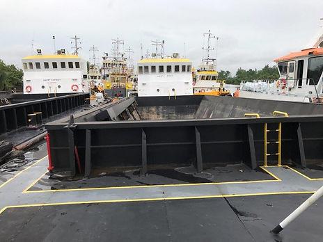 hopper barge for sale