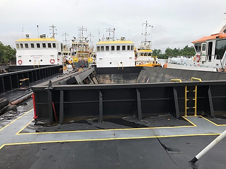 hopper barge for sale