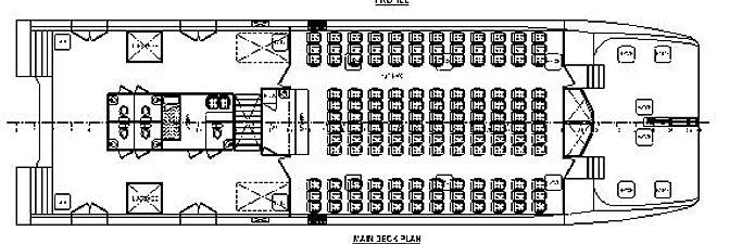 30m 270 passenger ferry